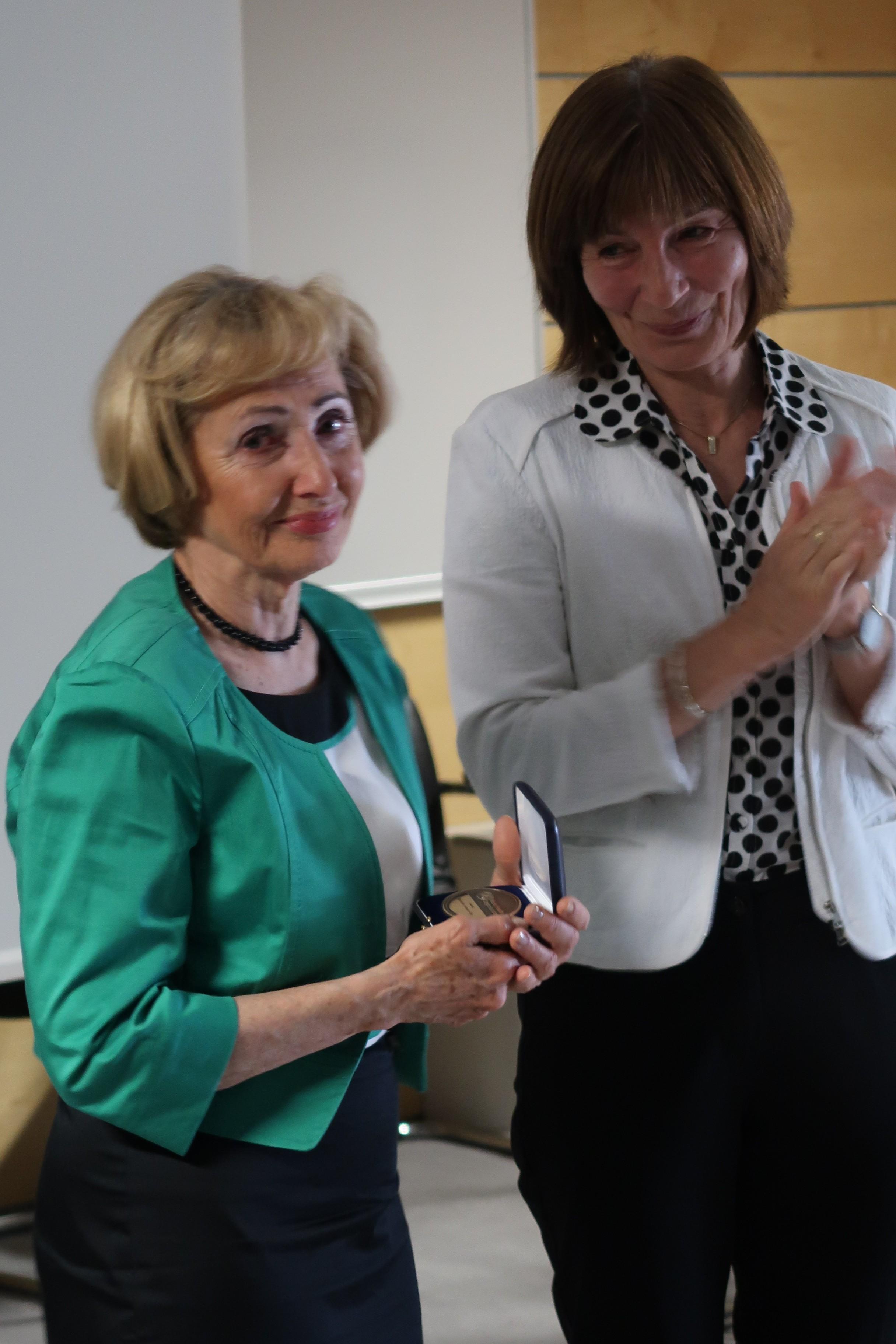 Milojka Kolar Celarc in dr. Darina Sedlakova