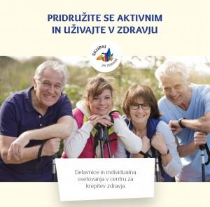 Delavnice in individualna svetovanja v centru za krepitev  zdravja